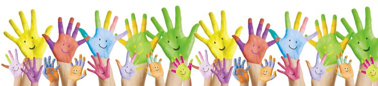 Smiley Children's Hands